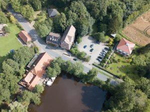 Wassermühle Luftbild